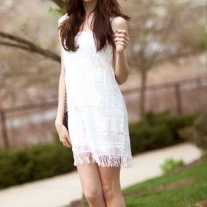 American Eagle Fringe Dress